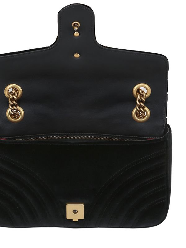 Marmont 2.0 Velvet Shoulder Bag Gucci nNQ3NJjyUm