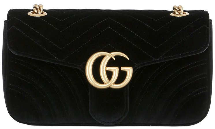 b4a9009bf76c03 Gucci Small GG Marmont 2.0 Velvet Shoulder Bag | Bragmybag