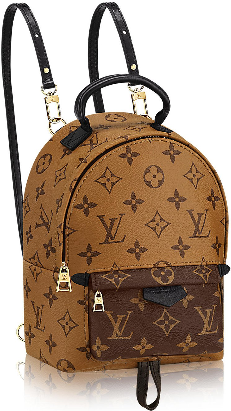 louis vuitton monogram reversed palm springs backpacks. Black Bedroom Furniture Sets. Home Design Ideas