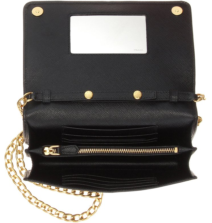 2805ffa11fbe26 ... sweden prada galleria saffiano lux wallet on chain bag 4aac7 39026