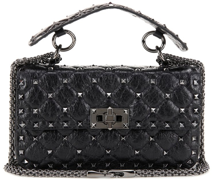 valentino-small-rockstud-spike-quilted-bag-black