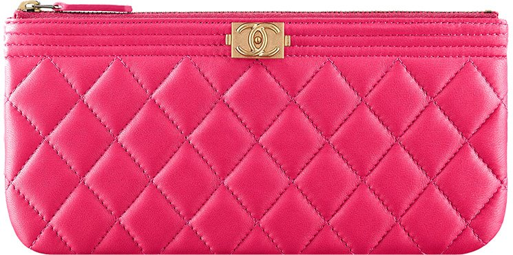 be574c433694f6 Boy Chanel Small Quilted Pouch | Bragmybag