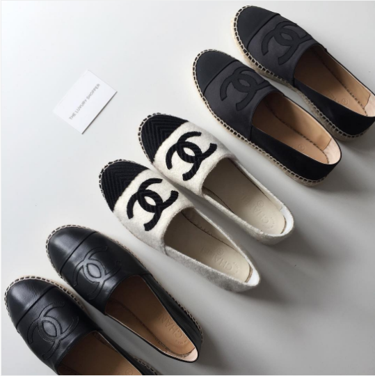 chanel-black-white-gray-espadrilles