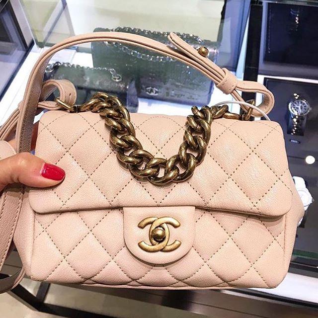 Chanel Quilted Flap Bag With Boyish Chain Bragmybag