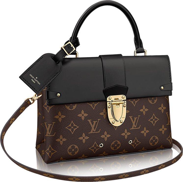 Louis Vuitton Double Handle Bag 3Jrdu6BX