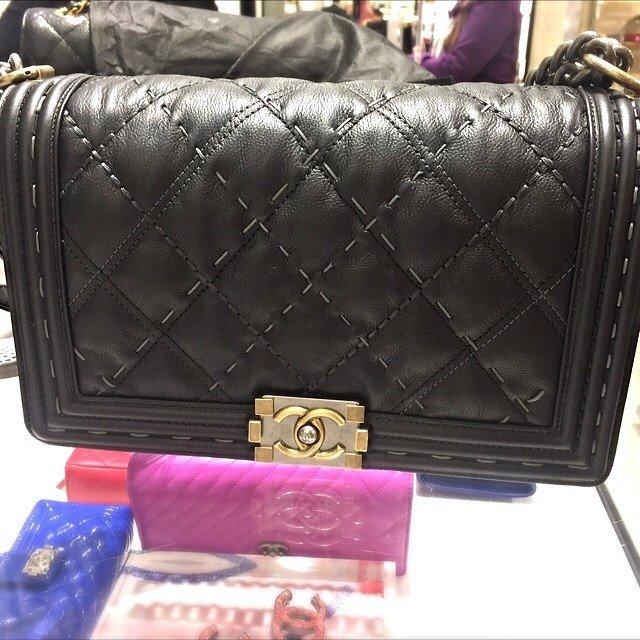 boy-chanel-quilted-grey-stitching-bag-2