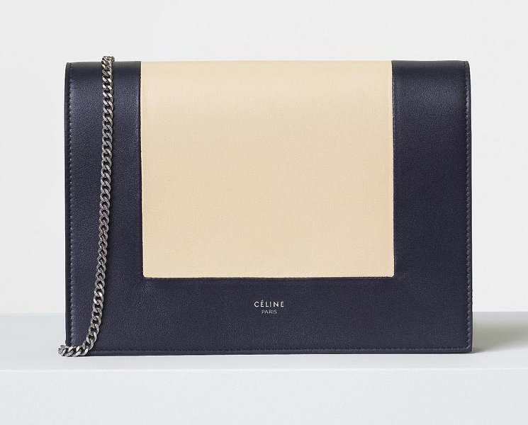 2017 fashion elements - Celine Frame Evening Clutch On Chain Bragmybag