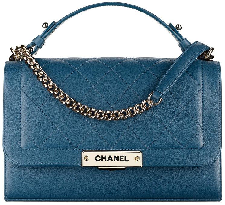 Chanel cruise classic flap bag