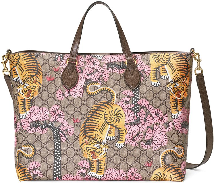 Gucci Bengal Print Bag Collection Bragmybag