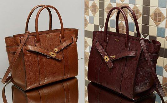 5fb0db46df Mulberry Zipped Bayswater Bag