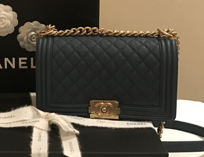 Shopping with Zoe: Boy Chanel Old Medium Flap Bag and Chanel ... : chanel quilted boy flap - Adamdwight.com