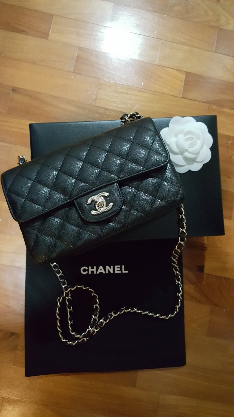 shopping with sue chanel mini rectangle classic flap bag