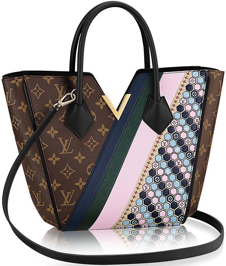 592cbd3d2aba Louis Vuitton Kimono Coated Monogram Canvas Bag