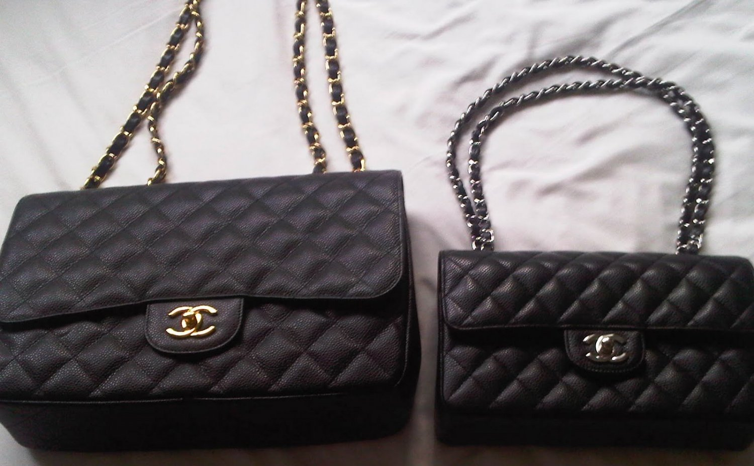 Chanel Bag With Gold Hardware Do You Know Which City Would Have The Best Price And Vat Refund What Is Difference Between Two Styles
