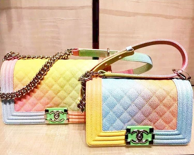 809a5f4a9e5b Boy Chanel Rainbow Flap Bag | Bragmybag