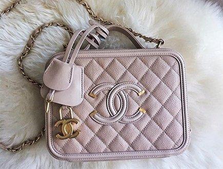 b0726fb41f8b Chanel CC Filigree Vanity Case Bag – Bragmybag