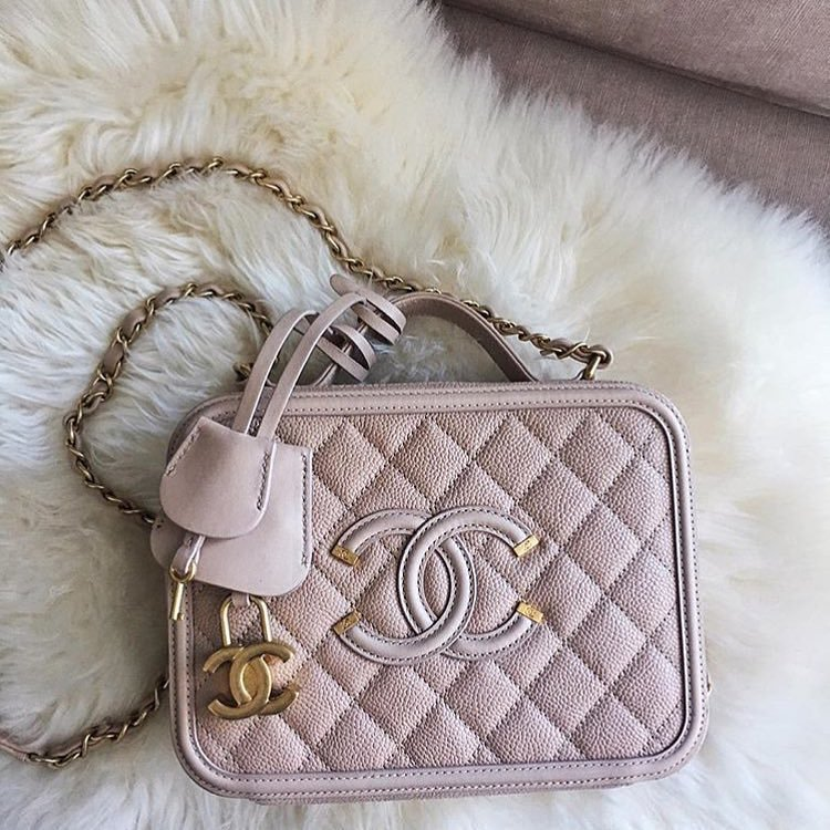 051517314e1c Chanel CC Filigree Vanity Case Bag Has Returned For Spring Summer 2017  Collection