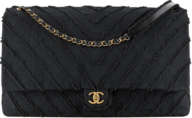 Chanel-Canvas-Chevron-Bag-3