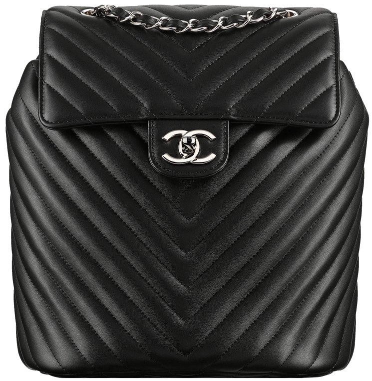 c5e55601660e Chanel Chevron Urban Spirit Backpack | Bragmybag