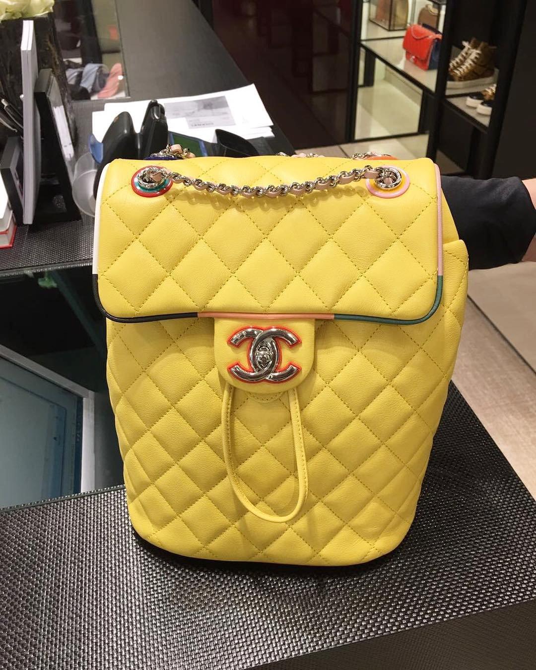 afbbc51728f8 Chanel Cuba Urban Spirit Backpack