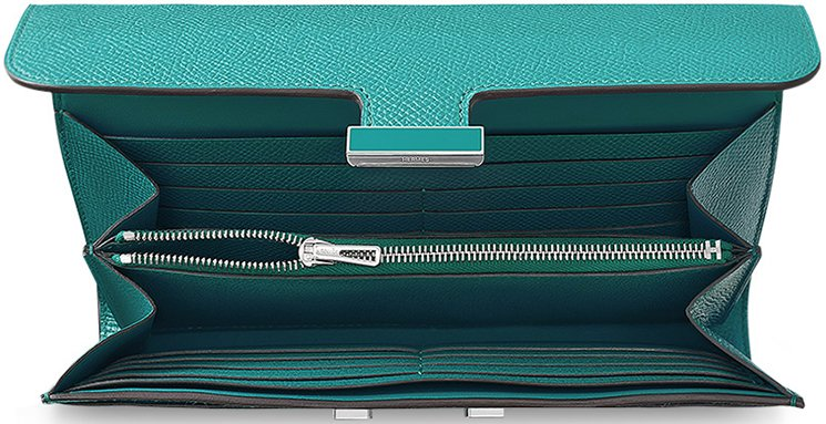 Hermes-Constance-Long-Wallet-with-Colored-'H'-Clasp-2
