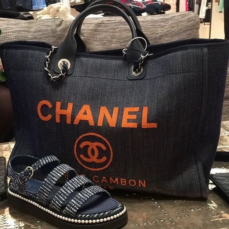Chanel-Denim-Large-Shopping-Bag