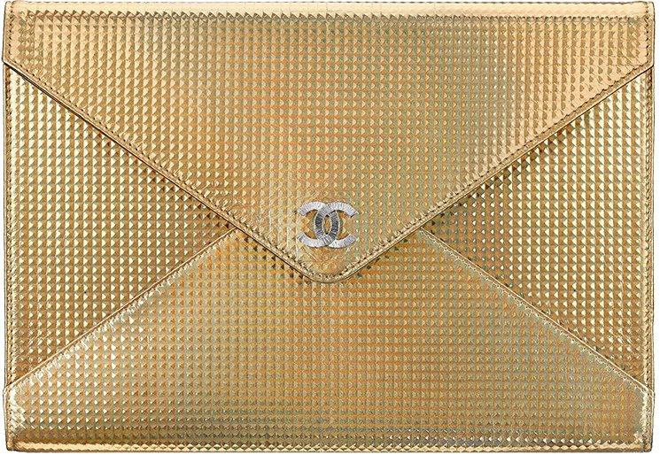 Chanel-Metallic-Studded-Clutch-Bag-2