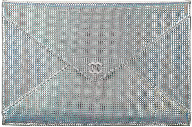 Chanel-Metallic-Studded-Clutch-Bag-3