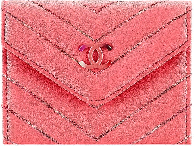 Chanel-Multicolor-Chevron-Wallets-2