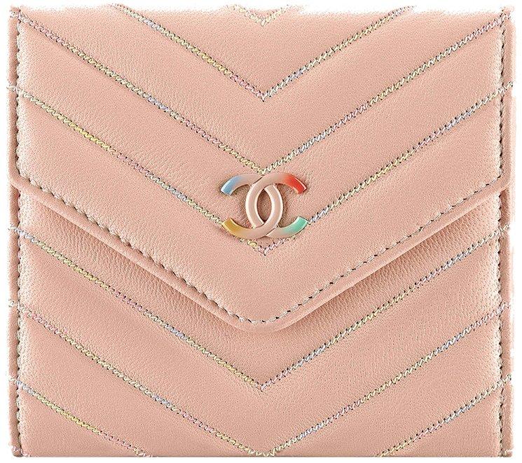 Chanel-Multicolor-Chevron-Wallets-4