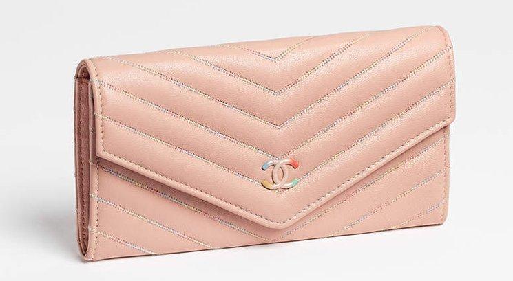 Chanel-Multicolor-Chevron-Wallets-5