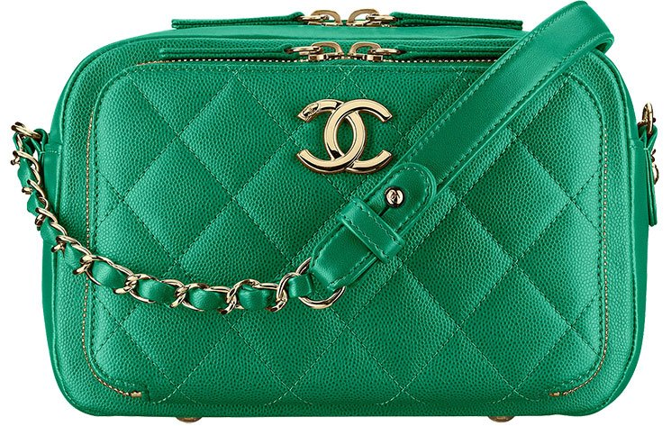 Chanel-Quilted-Double-Zip-Camera-Case
