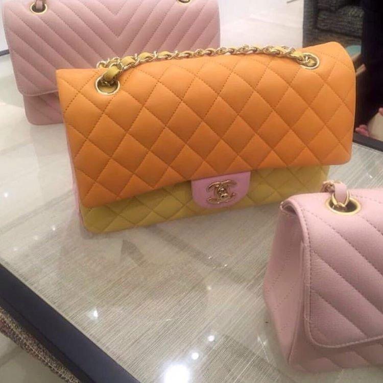 Chanel-Tri-Color-Classic-Flap-Bag