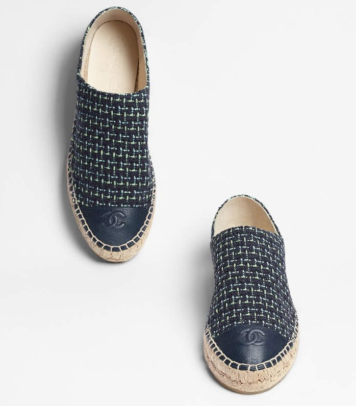 Chanel-Tweed-Espadrilles-blue