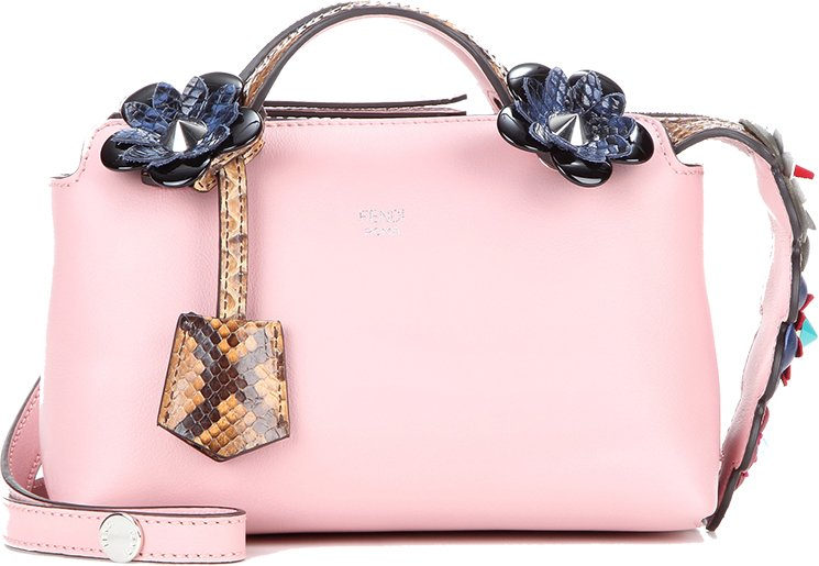 Fendi-Flower-By-The-Way-Bag-with-Croc-Leather-Tag