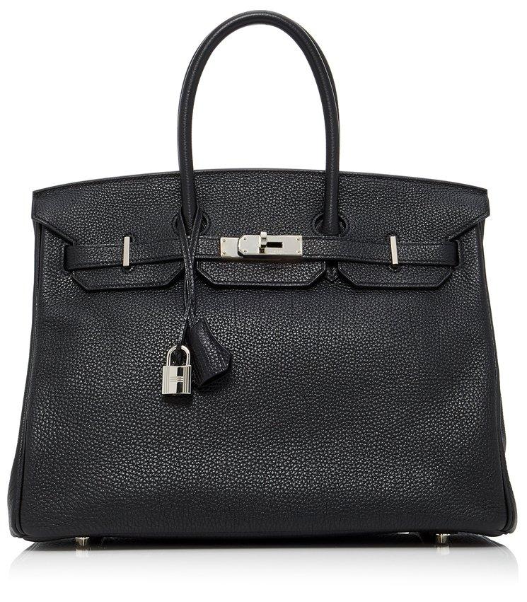 Hermes-Birkin-35-Bag-in-Black-Togo-Leather