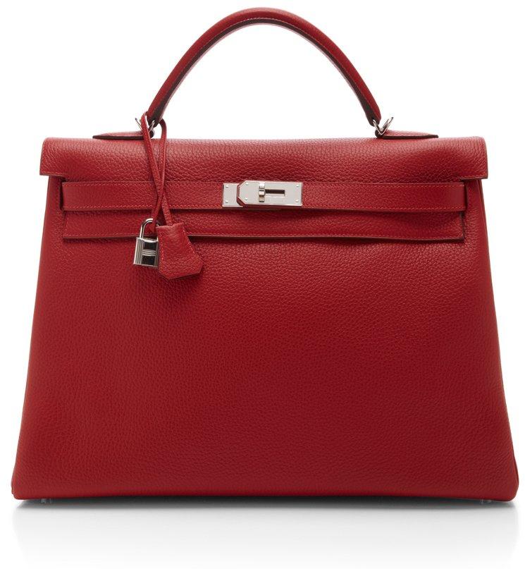 Hermes-Kelly-40-Retourne-Bag-Rouge