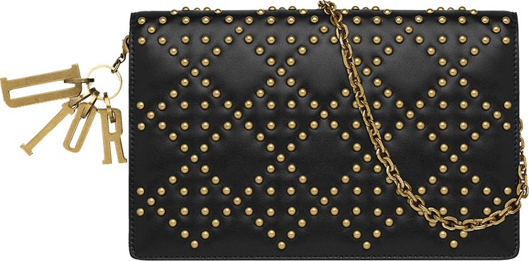 Lady-Dior-Studded-Wallet-On-Chain-Pouch