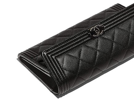 0ee0a189f6 Boy Chanel Quilted Flap Wallet | Bragmybag