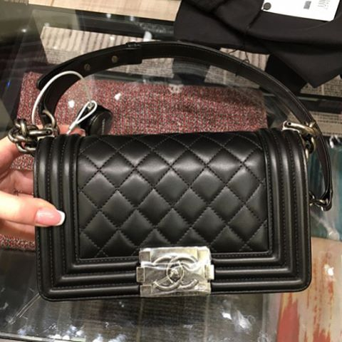 Boy-Chanel-Black-Quilted-Bag