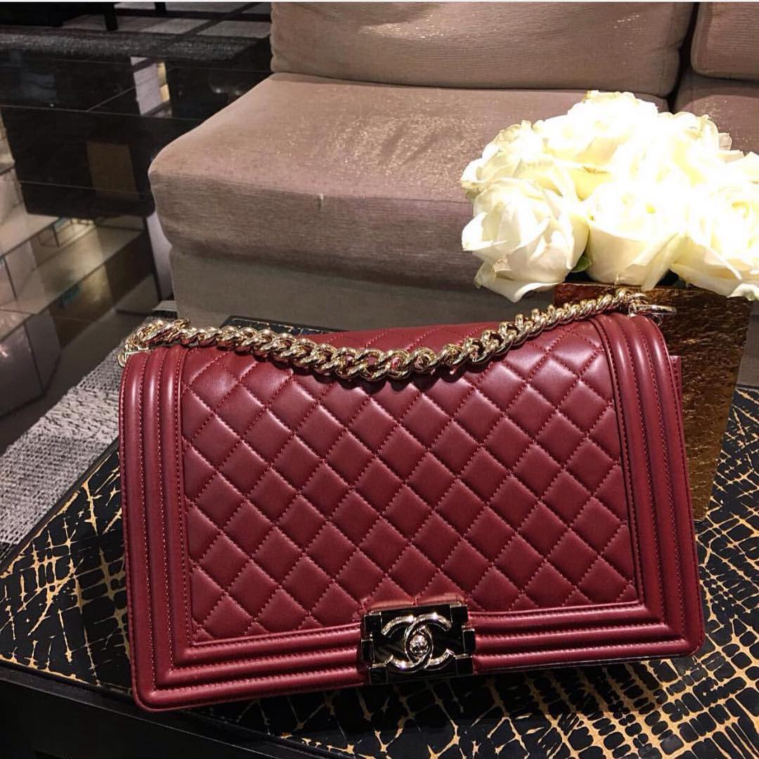 Boy-Chanel-Burgundy-Quilted-Bag
