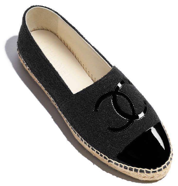 Chanel-Black-Espadrilles