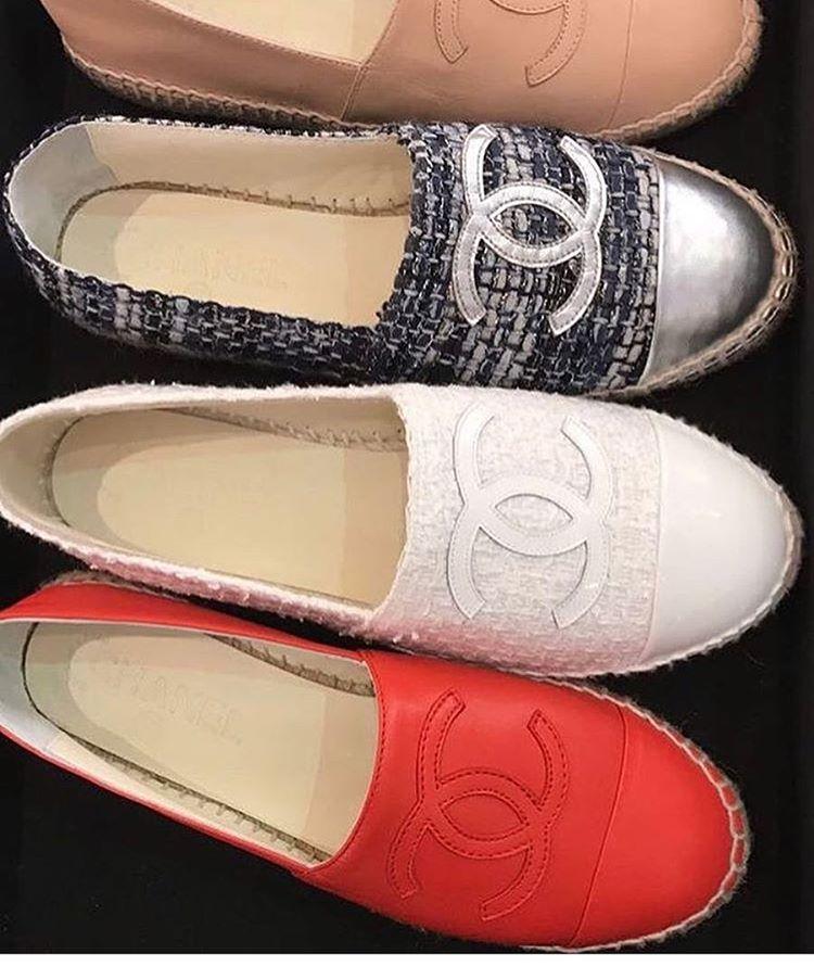 Chanel-Espadrilles