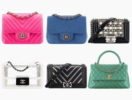 23f682303cb8 Chanel Spring Summer 2017 Classic And Boy Bag Collection Act 2 ...