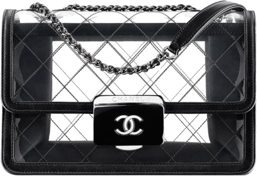 Chanel-Transparent-Tweed-Flap-Bag-2