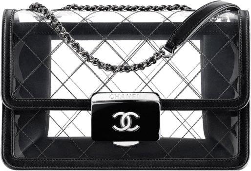 Chanel-Transparent-Tweed-Flap-Bag-2