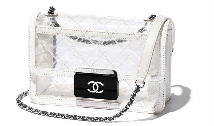 e67aa4549aa1 Chanel-Transparent-Tweed-Flap-Bag-5