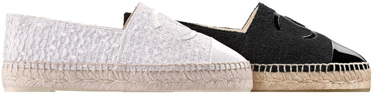Chanel-White-Espadrilles