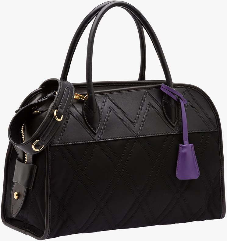 Prada-Graphic-Quilt-Quilted-Fabric-Bag-5