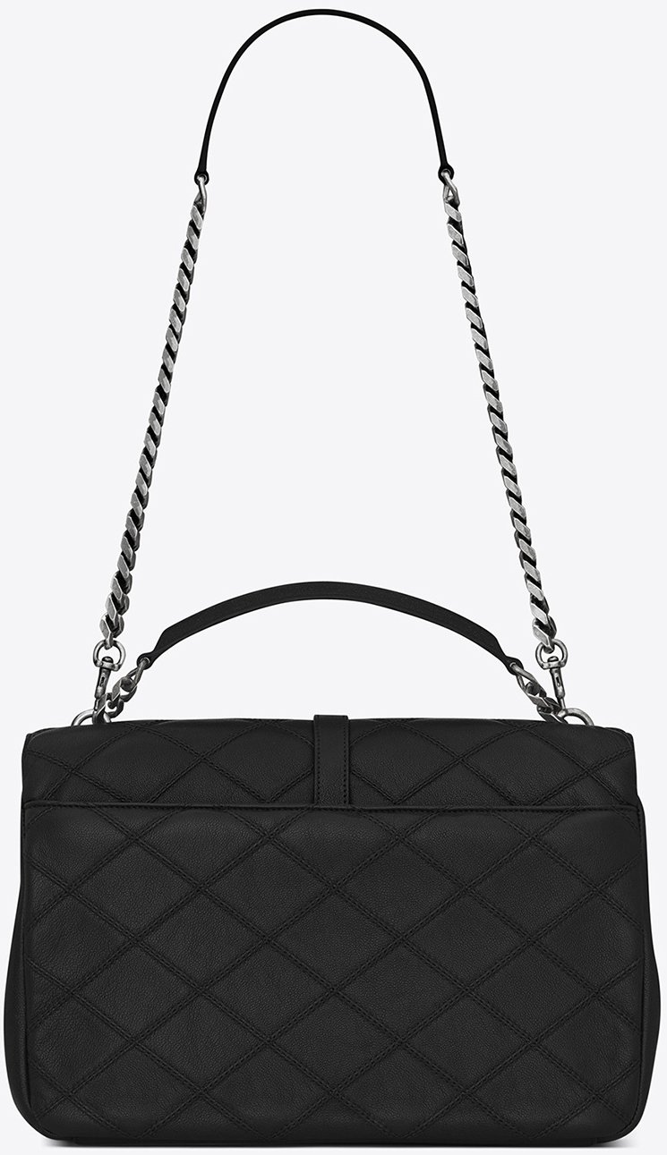 Saint-Laurent-Quilted-Stitching-College-Bag-5
